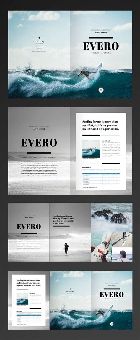 brochure layout in indesign pinterest the world s catalog of ideas