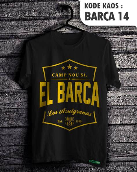 Distro Kaos Barcelona 10 jual fc barcelona barca fans baju sepakbola kaos distro