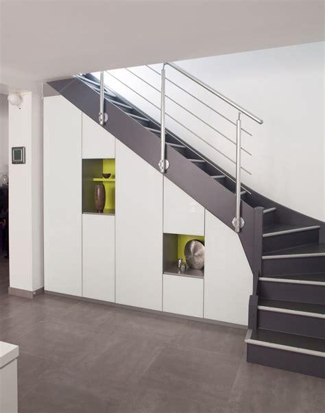 Meubles Sous Escaliers by Placard Sous Escalier Sur Mesure Nantes Vannes