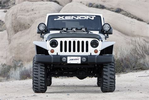 Jeep Styles Xenon Flat Fender Style Flare Kit For 07 17 Jeep 174 Wrangler