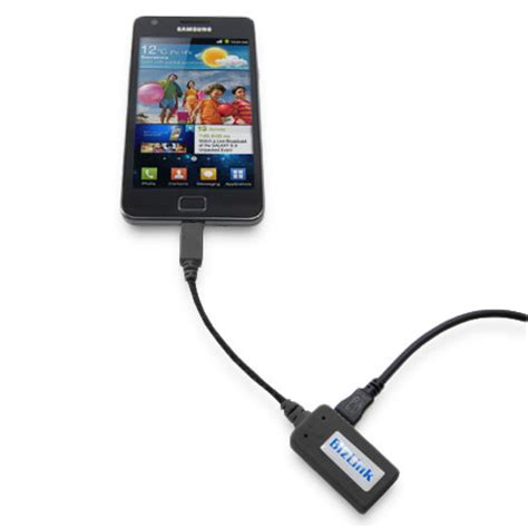 Tv Out bizlink mhl adapter microusb to hdmi tv out black