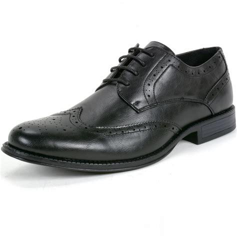 oxfords dress shoes alpine swiss zurich s oxfords brogue medallion wing