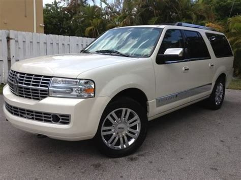 for sale 2007 passenger car lincoln navigator ultimate elite nav dvd moon thx chr clifton buy used 2007 lincoln navigator l ultimate sport utility 4 door 5 4l in fort lauderdale florida