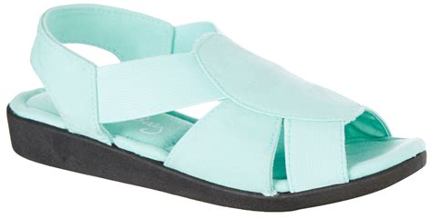 coral bay sandals coral bay womens maggie memory foam sandals ebay
