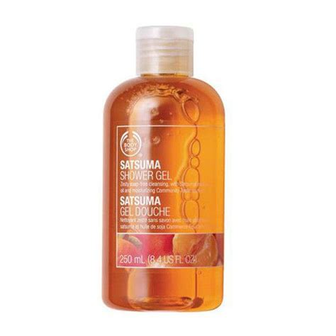 The Shop Shower Gel Satsuma the shop satsuma shower gel 250 ml buy the shop