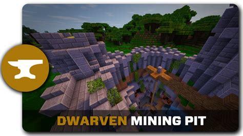 build pit minecraft dwarven mining pit tutorial minecraft project