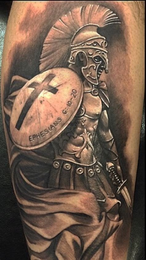 christian warrior tattoo pin by breaux on tattoos