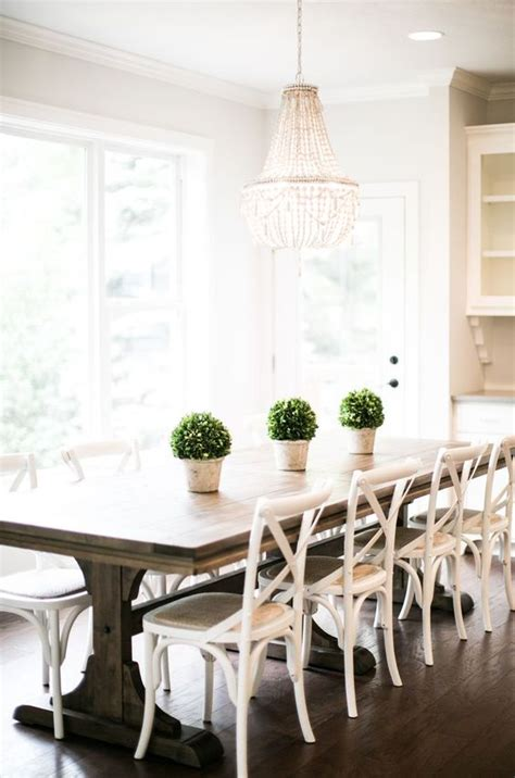 white themed dining room ideas 28 gorgeous trestle tables and desks for your home digsdigs