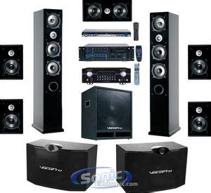 Home Theater Karaoke vocopro kht 6 kht6 ultimate karaoke home theater system with