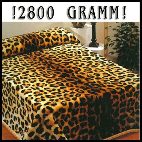 decke 200 x 240 flauschige wolldecke decke 200 x 240 cm leopard neu 2 ebay
