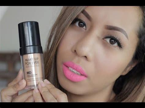 Makeup Forever Indonesia makeup forever hd foundation review tips untuk memilih