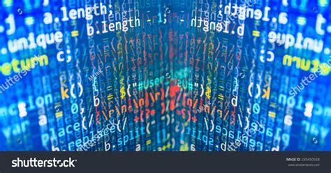 pattern html data digital abstract bits data stream cyber pattern digital