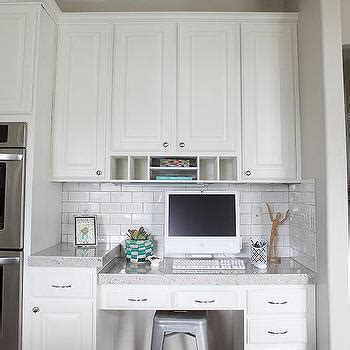 small kitchen desk ideas built in kitchen desk design ideas
