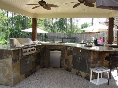 Backyard Kitchen Design Ideas 47 Amazing Outdoor Kitchen Designs And Ideas Interior