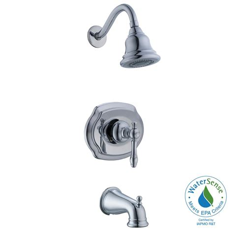 glacier bay lyndhurst bathroom faucet glacier bay lyndhurst 1 handle 3 spray tub and shower
