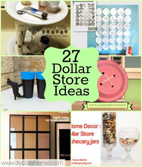 tons of dollar store craft decor projects to make