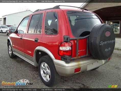 2000 Kia Sportage Ex 2000 Kia Sportage Ex 4x4 Classic Gray Photo 3