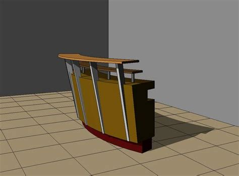 Revit Reception Desk Revitcity Object Reception Desk Corporate