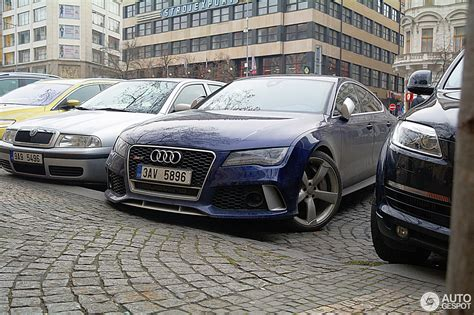 Audi Rs7 Gewicht by Audi Rs7 Sportback 7 Februar 2014 Autogespot