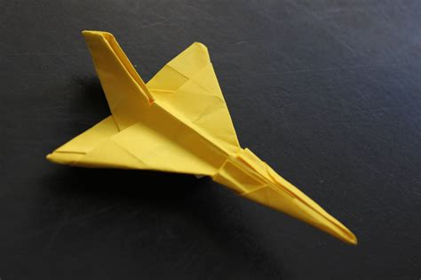 How To Make A Realistic Paper Airplane - how to make a cool paper plane origami f106