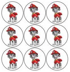 paw patrol free printable mini kit of marshall is it