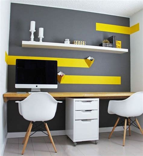 home design and decor ideas best 25 yellow office ideas on pinterest creative