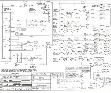 roper washing machine wiring diagram free