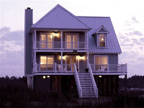 Elevated Beach House Plans | home plans raised beach house raised beach homes plans