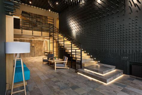 contoh desain tangga keren  rumah mewah  arsitag