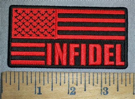 Cp Flag Black 4490 cp s infidel and black american flag