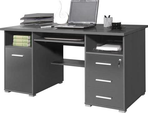 schreibtisch weiß mit tastaturauszug germania schreibtisch 187 0484 171 mit tastaturauszug und