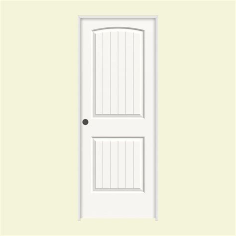 home depot white interior doors jeld wen 28 in x 80 in molded santa fe primed white 2