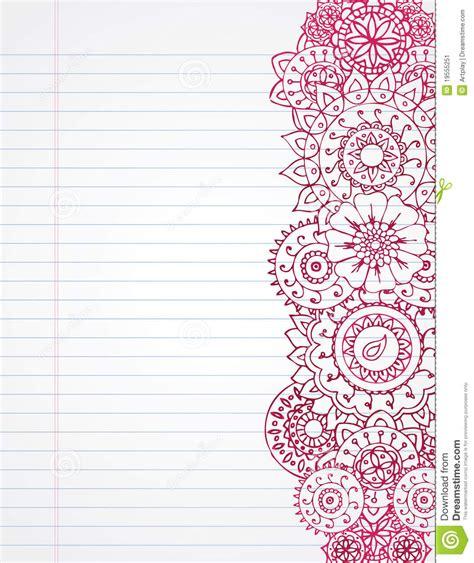 henna design notebook henna notebook stock image image 19555251