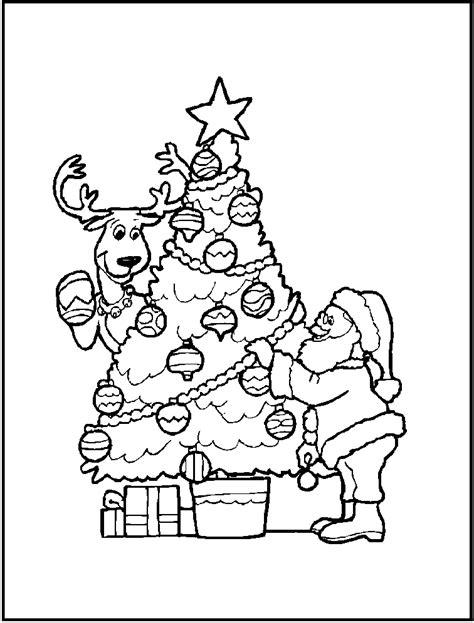 arbol de navidad colorear dibujos navideos para pintar o