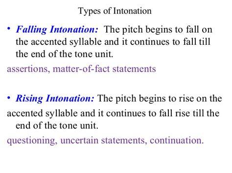 intonation pattern quiz teaching intonation pattern
