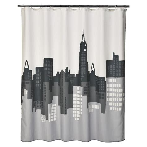city scape shower curtain 17 best images about bathroom and bedroom on pinterest