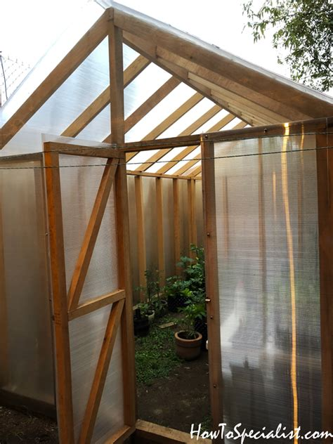 greenhouse diy project howtospecialist