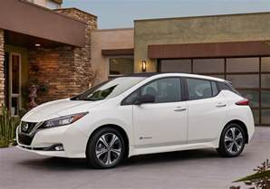 Nissan Leaf Extended Range All New Nissan Leaf Is Coming For 2018 With Driving Range