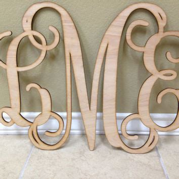 Letter Initials Wall Decor by Wall Ideas Design Last Name Established Sign Wall