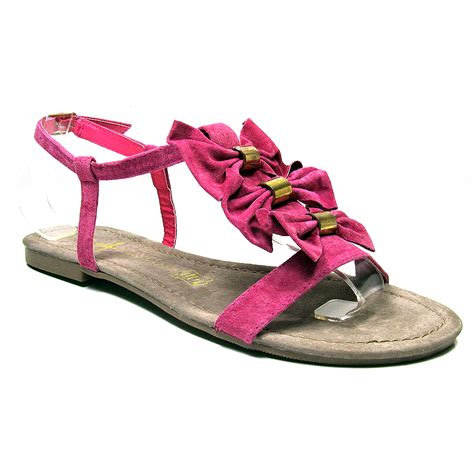 womens primark gladiator pink sandals summer
