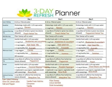 Shakeology Detox Program by 25 Best Ideas About 3 Day Refresh On