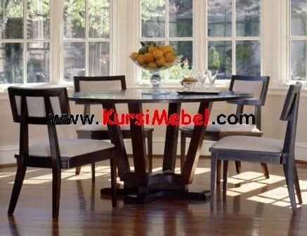 Meja Makan Bulat set kursi meja makan minimalis meja bulat ini merupakan kursi mebel yang memiliki desain yang
