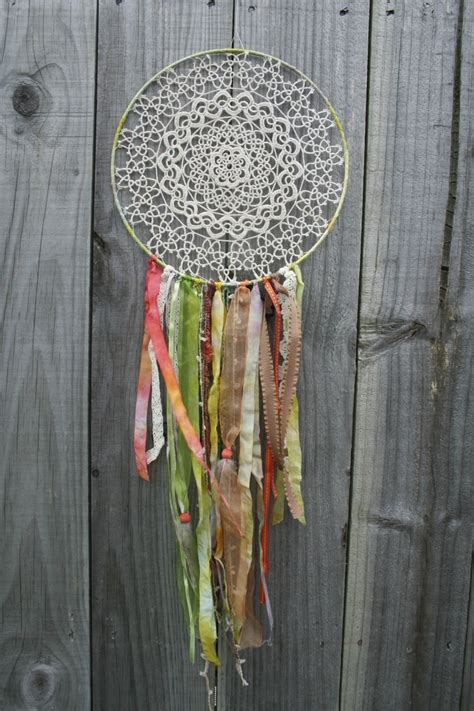 Handmade Dreamcatcher - unique handmade dreamcatcher felt