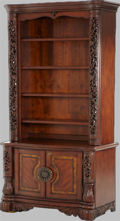 michael amini credenza excelsior home office in fruitwood