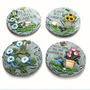 Decorative Garden Stepping Stones by Garden Design Decorative Stepping Four Pack Brand