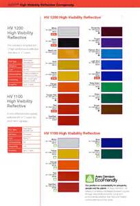 3m vinyl color chart 15 best images of color chart brown color chart