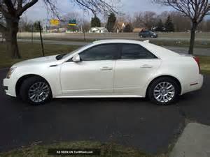 2010 Cadillac Cts 2010 Cadillac Cts Luxury Sedan 4 Door 3 0l