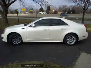 2010 Cadillac Cts 4 Specs 2010 Cadillac Cts Luxury Sedan 4 Door 3 0l