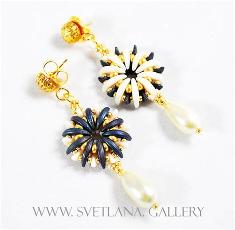 beaded flower bracelet patterns water flower bead pattern tutorial for bracelets earrings