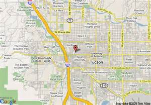 maps tucson arizona map of flamingo hotel tucson tucson